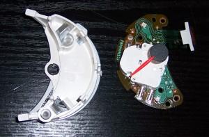 Schrittmotor aus Porschetacho