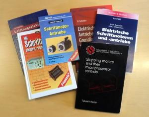 Übersicht Bücher zum Thema Schrittmotoren