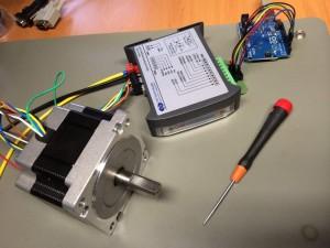 Testaufbau mit LAM DS1078