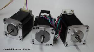 Stecker-Varianten bei Nema23 Motoren