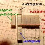 Durch Mikroschritt-Abweichungen verursachte Artefakte beim 3D-Druck [Quelle: Reprap-Forum]